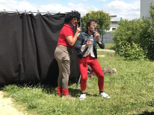 Version clown de Roméo et Juliette